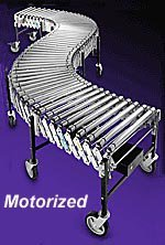 - Best Diversified Extra Heavy Duty Powered Expandable Roller Conveyor-30 Inch