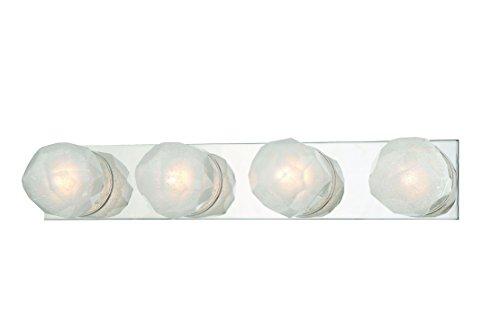 Outdoor Bracket 4 Light (Hudson Valley Lighting Four LED Bath Bracket Hudson Valley 4184-PN Transitional Nimbus Collection in Pwt, Nckl, B/S, Slvr.Finish, 8 Light, Polished Nickel Finish)