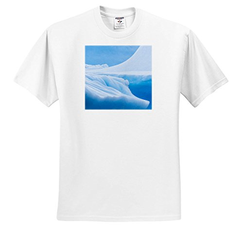 3dRose Danita Delimont - Abstracts - South Georgia Island. Iceberg Shapes and Hues. - T-Shirts - Toddler T-Shirt (2T) (TS_257012_15) -