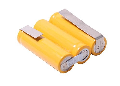 RocketBus 3.6v 650mAh AA Double A Cells NiMH Rechargeable Battery Pack with Tab 3.6 Volt