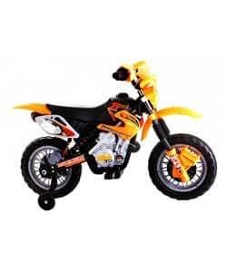 Amazon.com: Dirt Bike Estilo Ride On Moto – Amarillo.: Baby