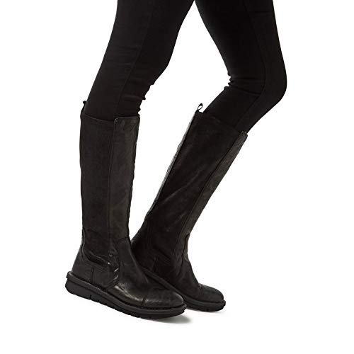Dune Trudy Block Heel Over The Knee Boots Black UK8  Amazon.co.uk  Shoes    Bags 660d26225b0c