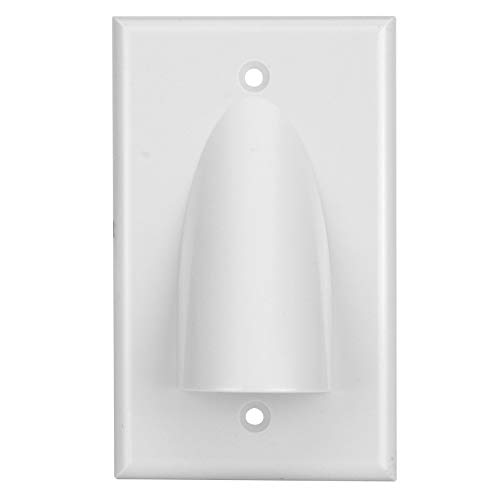 (Skywalker Signature Series Single Gang Bundled Cable Wall Plate,)