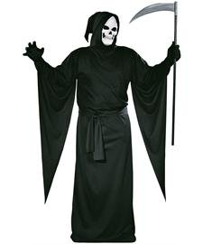 FunWorld Grim Reaper Robe, Black, One Size Costume -