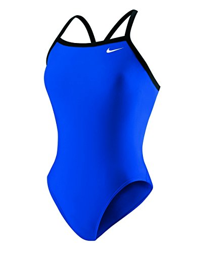 - Nike Nylon Core Solid Lingerie Tank Swimsuit - Women's Size 28 Color GameRoyal