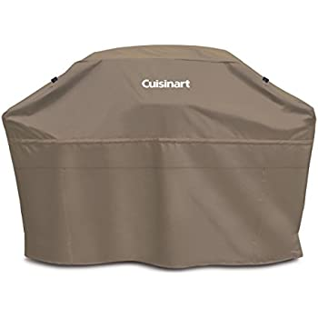 "Cuisinart CGC-60T Heavy-Duty Barbecue Grill Cover, 60"", Tan"