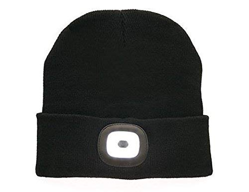 8df597d586c Image Unavailable. Image not available for. Color  Kikkerland LED Light Up  Beanie Hat