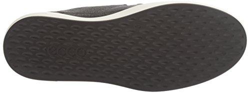 Damen Schwarz 8 Soft 1001BLACK Sneaker Ladies Ecco Oq7FZww