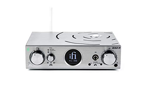 iFi Pro iDSD Desktop DAC/Tube/Solid State/Headphone Amplifier/Wireless Audio Streamer/USB/SPDIF/Optical Inputs for Home Stereo - Home Entertainment Upgrade (2.5mm)
