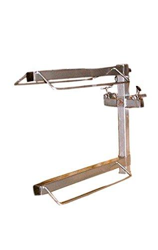 Equiracks Saddle Rack Portable Organizing 2 Arm Steel Gray PSRO2 by Equi-Racks