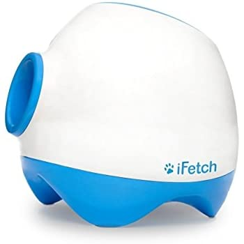 iFetch Too Interactive Ball Launcher for Dogs – Launches Standard Tennis Balls, Large