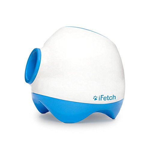 iFetch Too (Large) Interactive Ball Thrower for Dogs- Launches Standard Tennis Balls