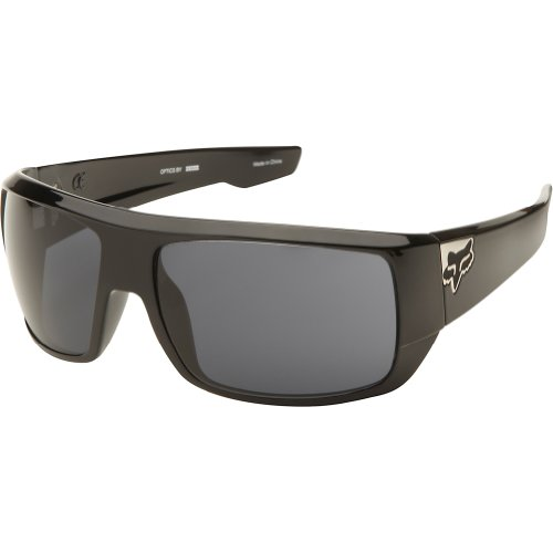 5c2653cb3a Fox Racing The Redeem Sunglasses - One size fits most Polished Black Grey -  Buy Online in Oman.