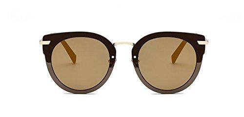 de vintage soleil Local métallique Lennon rond du inspirées style polarisées Or en retro cercle lunettes 4fWdxqwf