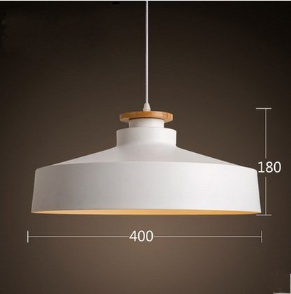 BGmdjcf Aluminum Founded Light Scandinavian Style Lamps Should Light , , Black 40Cm Diameter
