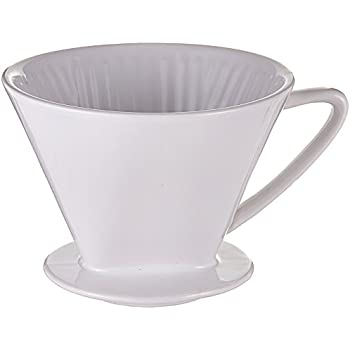 Frieling 4017166104943 Cilio, Porcelain Coffee Filter - 4 Cup, one size, white