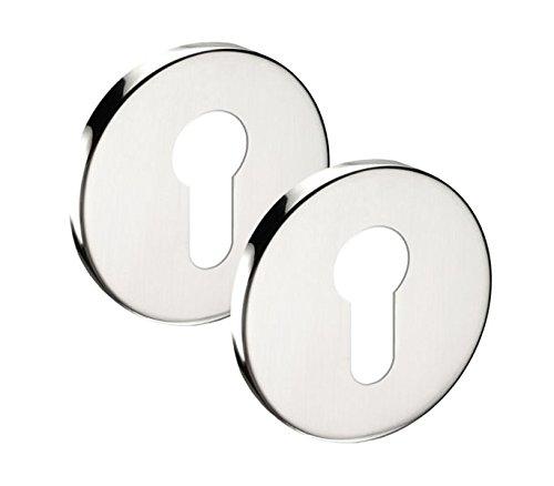 EuroCylinder Escutcheon - Cubiertas para llaves (6 mm) Access Hardware ®