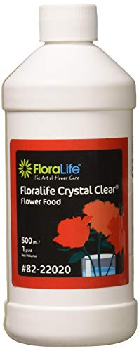 Floralife 82-22020 Floralife Crystal Clear Flower Food 300 Liquid, 500 ml/1 - Bouquet Gerbera Tulip