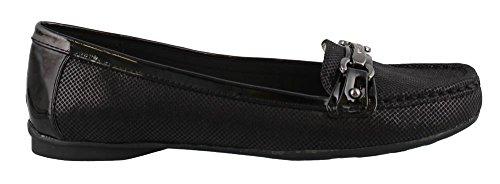 Anne Klein Women's, Kolleen Slip on Shoes Black 6 M