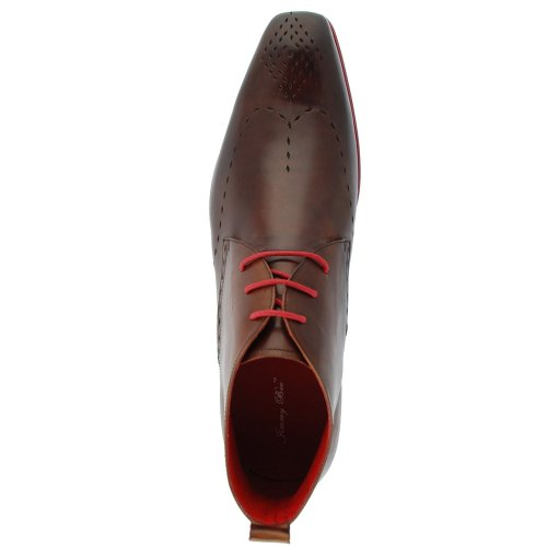 Jimmy Bee Drake Rouge 2C pour homme bottes Chocolat