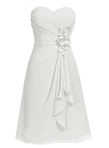 H.S.D Girls Relaxed Handmade Flower modification Special Occasion Dress Ivory