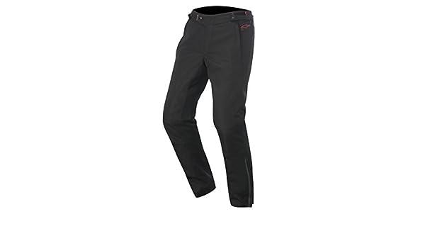 Alpinestars protean DRYSTAR Pantal/ón de Motorista Gr/ã /¶ /Ã/ÿe S Color Negro de Color Rojo