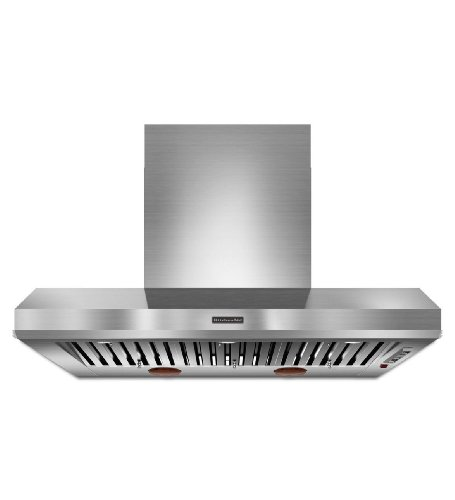 Kitchenaid KXW9748YSS 48-Inch Commercial-Style Series Wall-Mount Canopy Hood