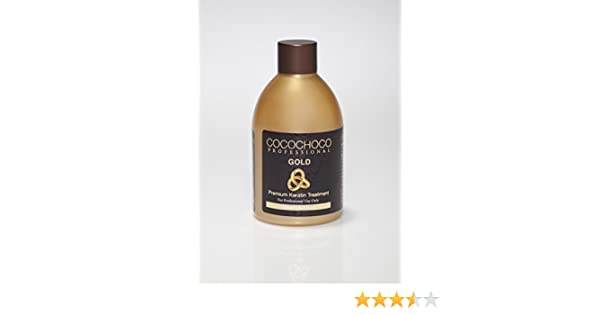 Cocochoco Professional - 8 4oz keratin treatment - choose your hair type  (Gold - For extra Shine)