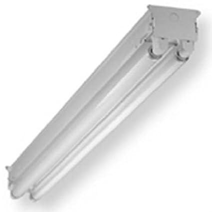 COOPER LIGHTING SSF296HO4WP 8u0027 HD 2 L& Strip Light  sc 1 st  Amazon.com & COOPER LIGHTING SSF296HO4WP 8u0027 HD 2 Lamp Strip Light - Flush Mount ...