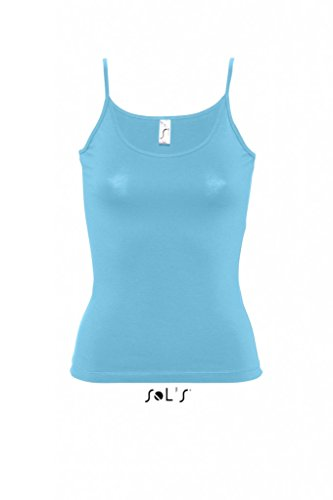 SOLS Damen Malibu Top 11870 Turquoise XL