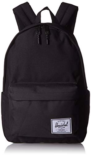 Herschel Classic Backpack, Dark Grid/Black, XL 30.0L