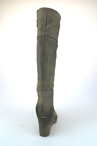 Damen AJ120 Schuhe beige Schuhe Damen KEYS Stiefel Leder TxTqE0X