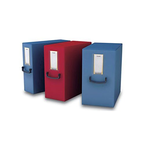 2 opinioni per Fellowes 40275 Raccoglitore Pick Up Box, Dorso 20 cm, Rosso