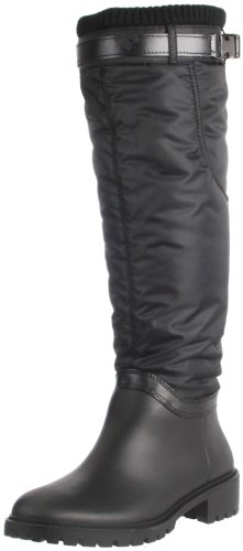 DKNY Women's Cascade Boot,Black,8 M US