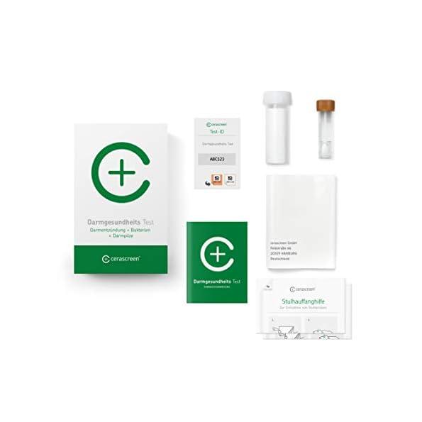 Darmgesundheits-Test-von-CERASCREEN–Gesundheitscheck-Darm-Plus-Stuhltest-zur-umfangreichen-Untersuchung-von-18-Darmbakterien-und-Pilzen-ua-Candida-Leaky-Gut-und-dem-pH-Wert-des-Stuhls