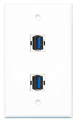 RiteAV Port Wall Plate product image