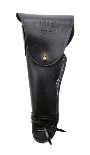 - World War Supply Black Leather M1916 Model 1911 .45 1911 Holster Left Hand Version