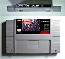 Super Castlevania IV - Action Game Cartridge US Version - Game Card For Sega Mega Drive For Genesis