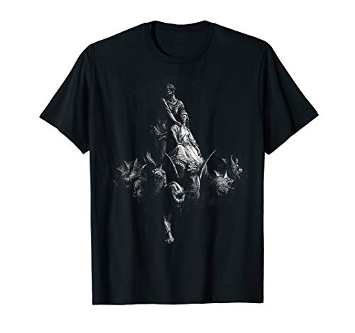 T-shirt Dore - Gustave Dore - Dante's Divine Comdey, Purgatory 32, 1868