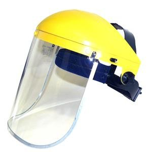 Futuris - Clear Safety Face Shield and Visor - CE EN Tested Grinding Protection