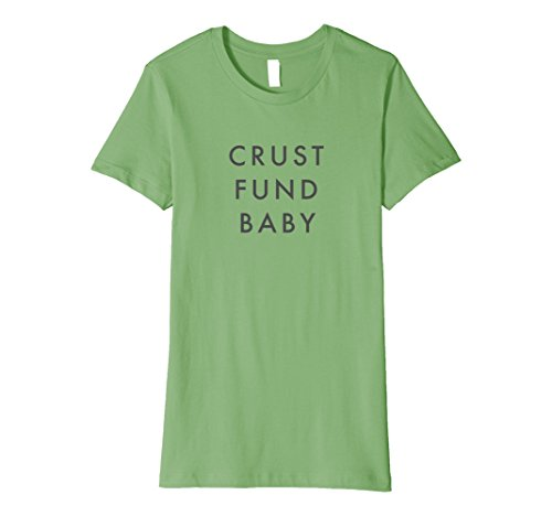 Womens Miracle Mile Apparel Crust Fund Baby Super Soft T-Shirt Large - Miracle Mile Shops The