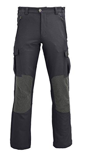 WÄFO Pantalone da Trekking Nero/Grigio IT 58