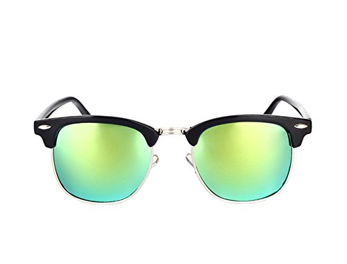 Price comparison product image Dormery Square Polaroid Men Sunglasses Women Brand Designer Fashionsun glasses oculos de sol feminino MA016 NO6 Gold Mirror
