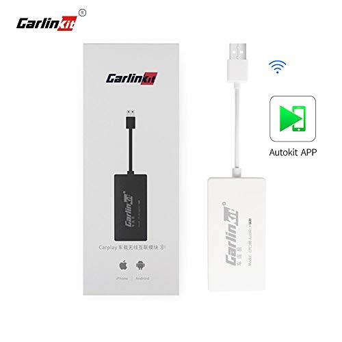 🥇 Carlinkit Wireless CarPlay Dongle Android Auto para Radio de automóvil con Unidad Principal de Android