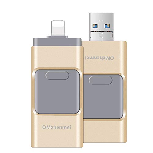 iPhone Lightning Flash Drive 64GB ,USB 3.0 External Storage