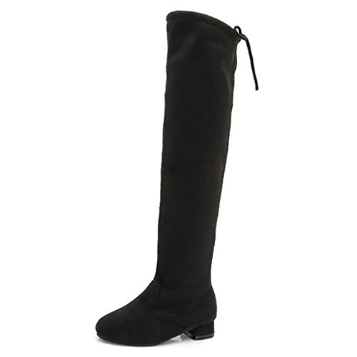 ittle Kid/Big Kid Faux Fur Lined Knee High Winter Boots (Faux Fur Kids Boots)