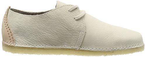 Off Scarpe Bianco off Clarks Donna Stringate White Derby Nbk Ashton Originals Nbk Fwq4Uv