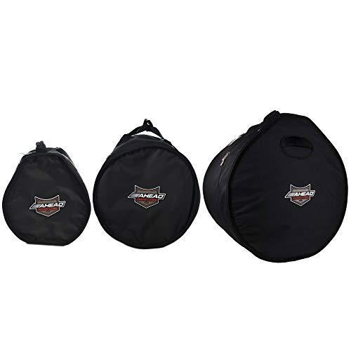 Ahead Armor 12x8/14x14/18x14 Drum Bag/Case (3 Pack Bundle) (Case Tom Rack)