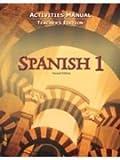 Spanish 1 Activity Manual Teacher's Edition(Gr. 9-12), Jones Bob, 1591661706