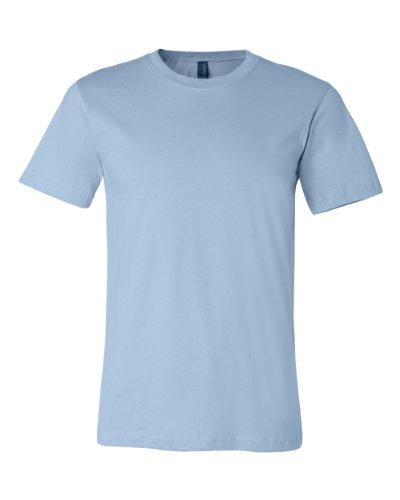 Bella + Canvas Unisex Jersey Short-Sleeve T-Shirt 2XL LIGHT BLUE